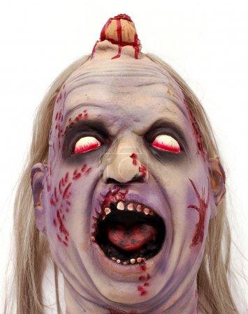 Bloody deformed head