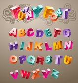 Funny 3d Font