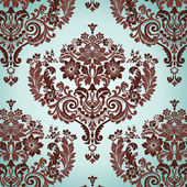Damask floral background pattern Vector illustration