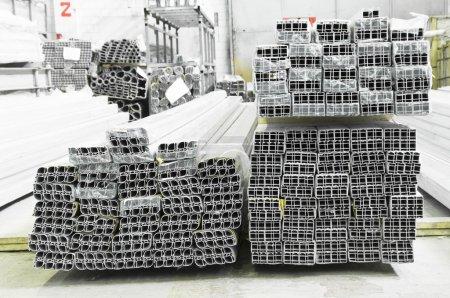 Warehouse of an aluminum profile