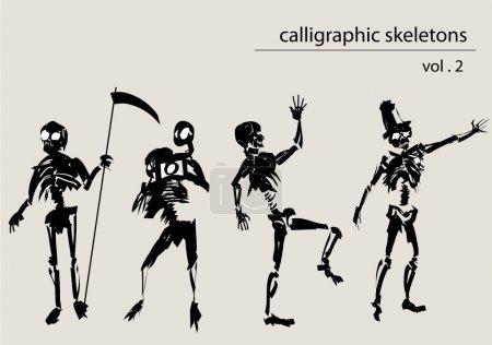 Calligraphic skeletons