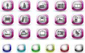 Média a vydavatelství ikony