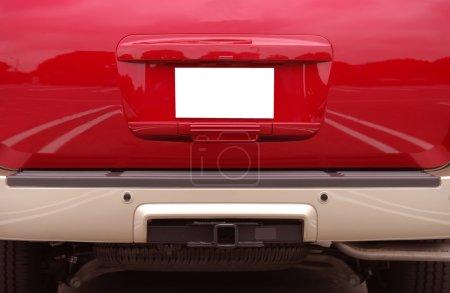Photo pour Camion rouge 5 - image libre de droit