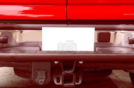 Photo pour Camion rouge 6 - image libre de droit