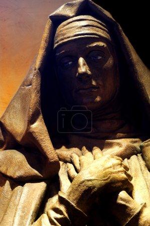 Photo pour Statue de Marie, mère de Jésus - image libre de droit