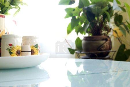 Foto de Interior acogedora cocina - Imagen libre de derechos