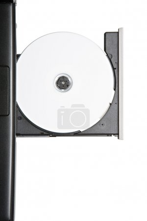 Cd or dvd in laptop drive