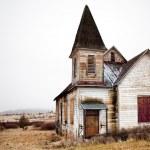 Abandoned rural church in Oregon US...
