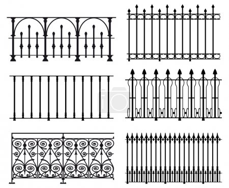 Railings and fences