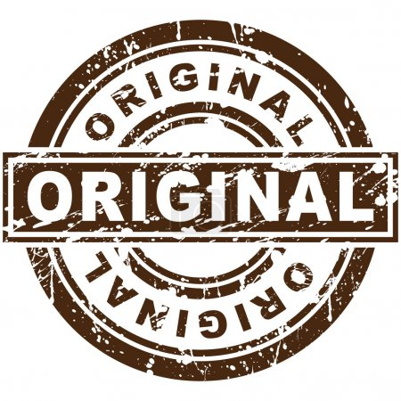 Illustration for An image of a original stamp. - Royalty Free Image