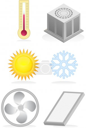 Air Conditioner Icons