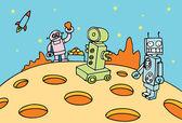 Robot Mining Operation