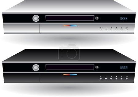 An image of a CD / DVD / DVR player....