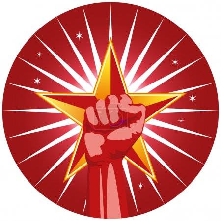Fist with Star