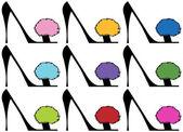 Lady's High Heels - Set