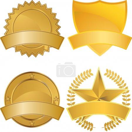 Gold Award Medals