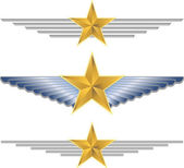 Gold Shield Wings