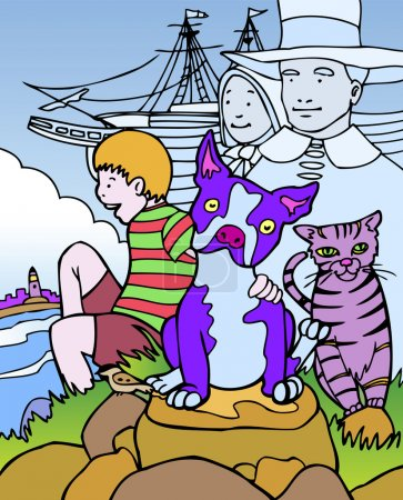 Kid Adventures: Trip to Massachusetts