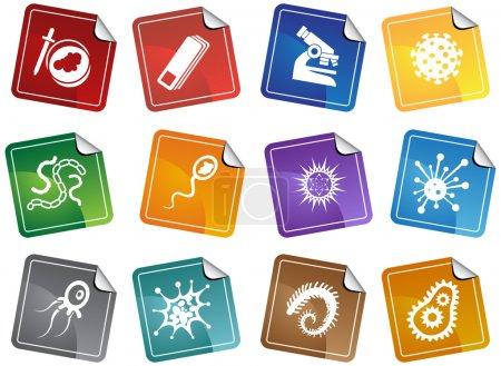 Microscopic Icons