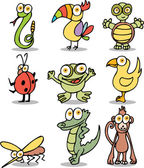 Jungle Cartoon Characters