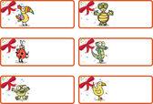 Christmas Gift Tags - Jungle Animals